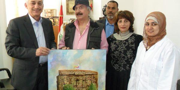 نتيجة بحث الصور عن التشكيلي العراقي مخلد المختار