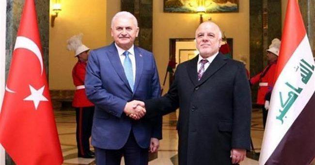 يلدريم و حيدر العبادي يلتقيان في أنقرة بعد غد الاربعاء